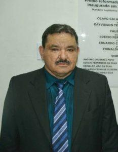 Fausto Batista (Cardoso) tomou posse pela terceira vez como Presidente da Câmara de Murici