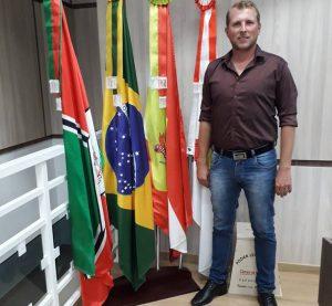 Tafarel Schons é o presidente da Câmara de Papanduva
