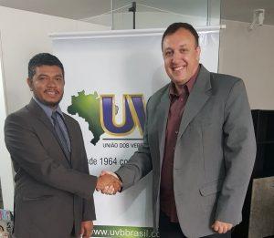 Presidente da UCMMAT visita sede da UVB em Brasília