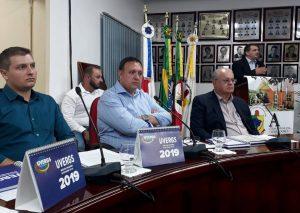 Presidente da UVB na primeira assembleia da Ascamaja de 2019