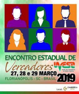 UVESC realiza Encontro Estadual de Vereadores 2019