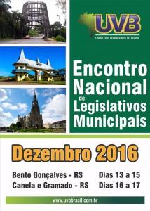 Encontro de encerramento da legislatura acontece na Serra Gaúcha