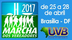 Marcha dos Vereadores 2017 novos vereadores serão convocados