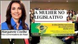 A Mulher no Legislativo é tema de palestra no Encontro de Brasília