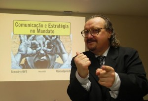 Comunicação e Estratégia, é o tema que o jornalista Mazzarino levará a Salvador