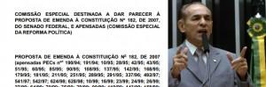 UVB repudia Versão apresentada pelo Relator para a Reforma Política