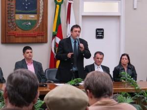 Palestra sobre Orçamento Impositivo abriu o  Encontro Nacional dos Legislativos Municipais em Encantado