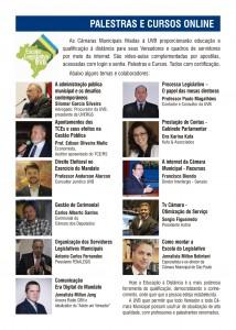 Qualificação à distância para as Câmaras Municipais filiadas a UVB
