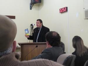 UVB visita Câmara de Vereadores de Santana do Livramento