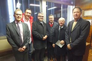Deputado Alexandre Postal recebe a UVB e representantes da OAB de Encantado