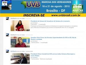 UVB tem agora Canal no You Tube
