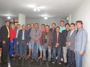 Diretoria da UVERN se reúne com presidente da UVB em Brasília