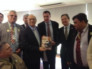 Ministro Eliseu Padilha recebe Comitiva da UVB