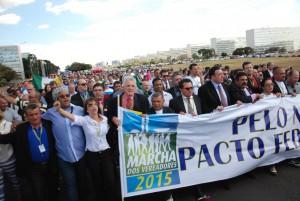 Veja o registro fotográfico da Marcha dos Vereadores em nossa Fan Page