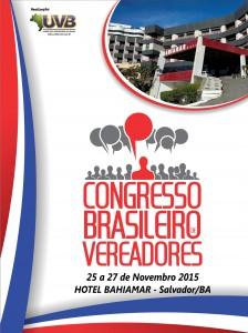 CONGRESSO BRASILEIRO DE VEREADORES – SALVADOR-BA
