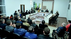 Câmara de Anta Gorda/RS inaugura nova sede