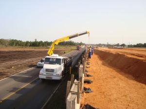 Menos da metade dos investimentos em rodovias foram realizados