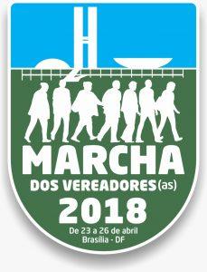 Marcha dos Vereadores 23 a 26 de abril de 2018