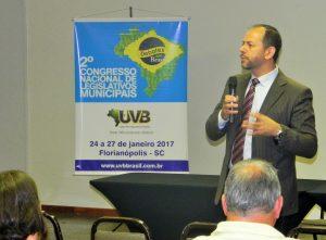 Congresso Nacional de Legislativos Municipais em Florianópolis
