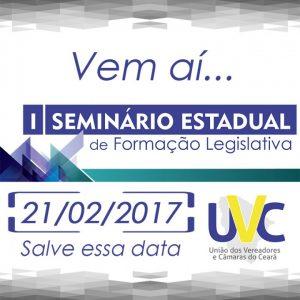 UVC realiza seminário de formação legislativa