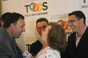 Silvana Covatti assume o governo do RS