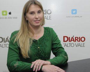 Prefeita Geovana Gessner confirmada no encontro da UVB em Penha