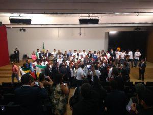 Frente parlamentar cria marco para o legislativo municipal.