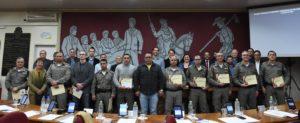 Servidores da Brigada Militar recebem Votos de Congratulações do Legislativo