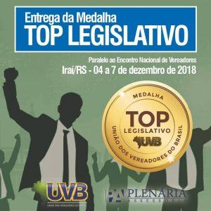 TOP LEGISLATIVO: Prazo para entrega de justificativa encerra no próximo dia 15