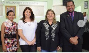 Três mulheres no comando da Câmara de João Dourado para ao Biênio 2019/2020