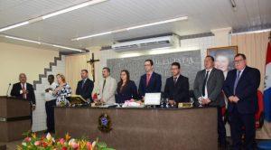 Câmara realiza Sessão Solene de posse da Nova Mesa Diretora