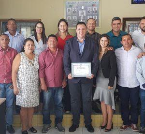 Presidente da UVB recebe homenagem na Câmara de Baía Traição com título de cidadão