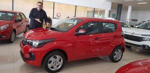 Fiat Mobi Easy é o carro do sorteio por adesão na Marcha 2019
