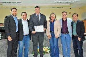 Câmara de Guamaré recebe Encontro da UVERN e realiza a entrega do Título de Cidadão Guamareense ao presidente da UVB