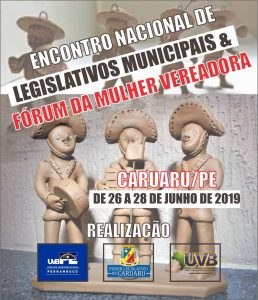 Encontro Nacional em Caruaru de 26 a 28 de junho