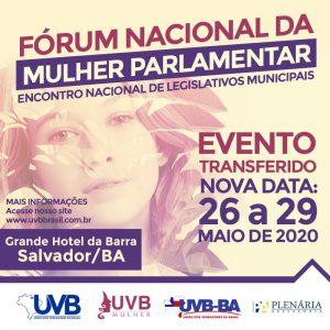 EVENTO EM SALVADOR-BA TRANSFERIDO PARA MAIO