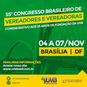 55° Congresso Brasileiro de Vereadores
