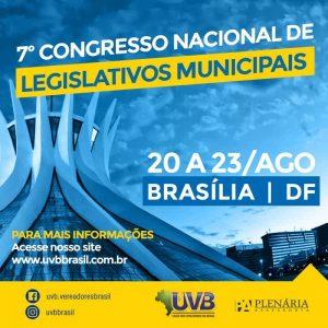 7° Congresso Nacional de Legislativos Municipais
