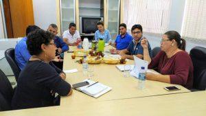 Presidente da Câmara  Municipal de Nerópolis-GO,e demais vereadores  reunidos pela implantação do Projeto Escola Militarizada