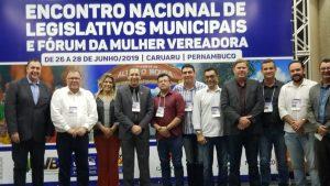 Encontro Nacional de Legislativos Municipais em Caruaru-PE, atende as expectativas dos vereadores.