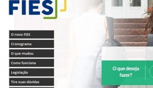 Mais de 46 mil vagas são ofertadas pelo Fies a juro zero