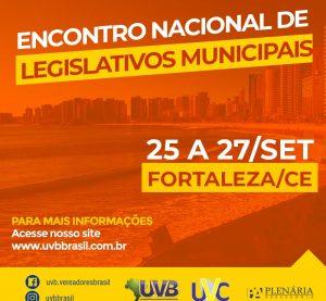 Confira a programação do Encontro de Legislativos em Fortaleza/CE