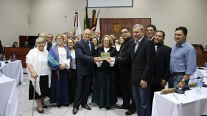 Legislativo Sarandiense realiza Sessão Solene Alusiva aos 100 Anos da Imigração Italiana em Sarandi-RS..