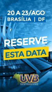 Confira a Programaçaõ do 7º Congresso Nacional de Legislativos Municipais em Brasília-DF.
