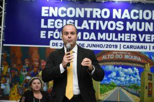 Atualização da Lei Orgânica Municipal foi o tema do advogado Danilo Falcão em Caruaru-PE