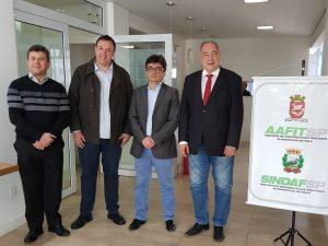 UVB, SINDAFSP, ANAFISCO e FENALEGIS firmam pauta municipalista para reforma tributária.