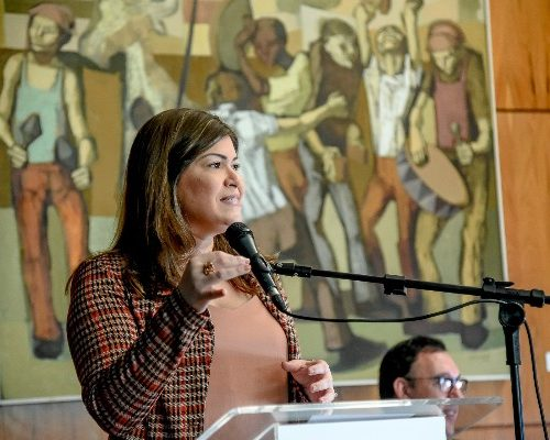 Aline Gurgel é a voz do municipalismo no Congresso Nacional