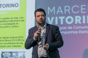 O especialista em marketing político Marcelo Vitorino é mais um palestrante confirmado para o 7º Congresso Nacional de Legislativos Municipais em Brasília-DF