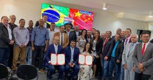 Câmara  Municipal de Porto Seguro-BA encerra os trabalhos do 1º semestre de 2019 e explana parceria entre a China, Porto Seguro e Eunápolis