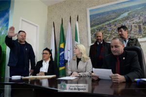Marino Garcia tomou posse como Vereador na câmara municipal de Foz do Iguaçu-PR sexta (05/07)